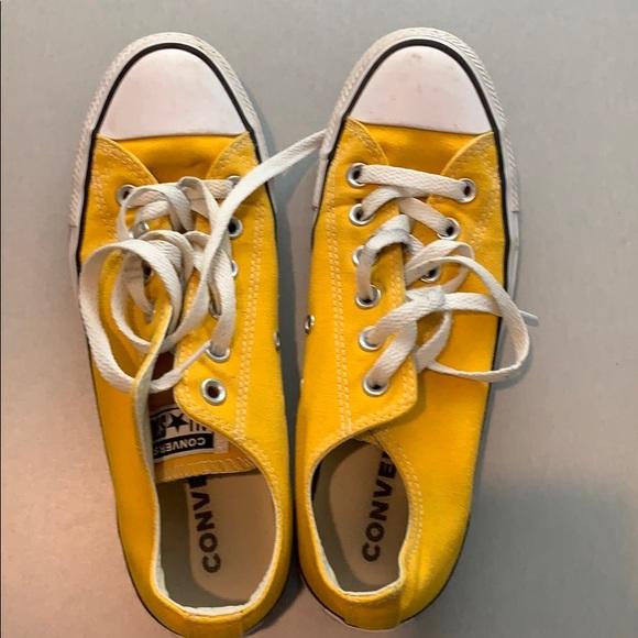 Converse Shoes | Yellow Chuck Taylors